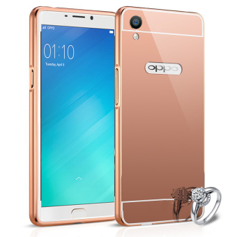 Harga Casing Metal Aluminium Case Oppo R9 / F1 Plus - Rose Gold