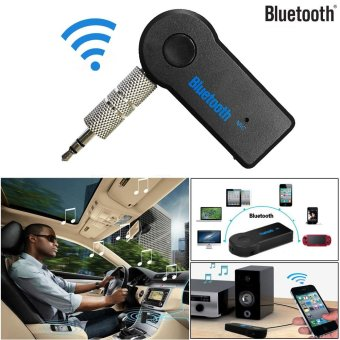 Harga Erpstore Details about Wireless Bluetooth 3.5mm AUX Audio Stereo Music Home Car Receiver Adapter Mic - intl
