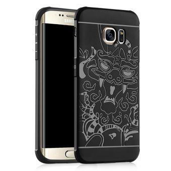 ... Kulit Penutup Flip Case untuk. Source · BYT Debossed Naga Silikon tutup pelindung layar untuk kasus Samsung Galaxy S6 Edge (Hitam)