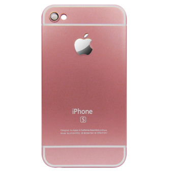 Harga Hardcase Plat for Iphone 4G - Pink Muda
