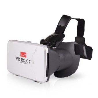 Harga VR Box T with Fingertip Control 3d VR Glasses RIEM 3 Cardboard (VBT)