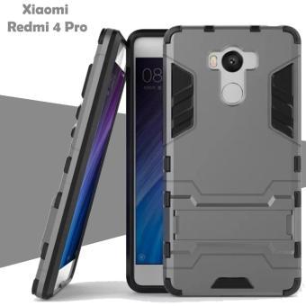 Case Iron Man for Xiaomi Redmi 4 Pro Robot Transformer Ironman Limited - Grey