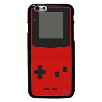 Harga Nintendo Game Boy Pattern Phone Case For iPhone 6 (Black)