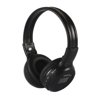 Harga 2.4GHz Stereo Bluetooth Headset (Black)