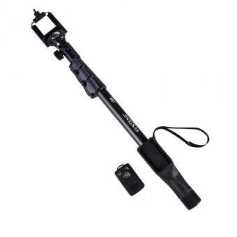 Harga Yunteng YT-1288 Monopod / Selfie Stick / Tongsis Bluetooth with Shutter and U Holder YT1288 (Hitam)