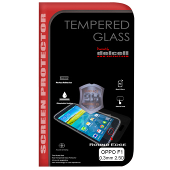 Harga Delcell Tempered Glass Screen Protector For Oppo F1