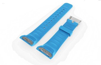 Silicone Strap WristBand For Samsung Gear Fit2 fit 2 SM-R360 GPS Sports Smart Band
