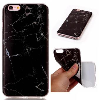 Harga Moonmini Case for iPhone 6 Plus / iPhone 6s Plus Marble Pattern Soft TPU Phone Back Case - Style 5 - intl