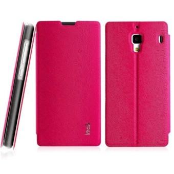 Imak Flip Leather Cover Case Series For Xiaomi Redmi 1S - Rose