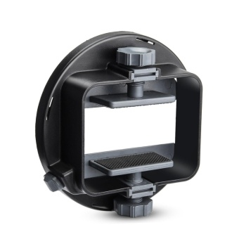 (IMPORT) LinkStar Universal Flash Adapter Mount CA-SGU SocketCamera for Speedlite Flash Accessories Kit with Barndoor,Snoot,Honeycomb,Standard Reflector, Diffuser Ball,Softbox - intl