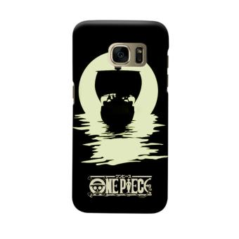 Indocustomcase Anime One Piece Character OP14 Casing Case Cover For Samsung Galaxy S6 Edge