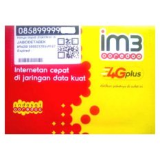 Indosat im3 0858 99999 284 Kartu Perdana Nomor Cantik Ooredoo 4G LTE