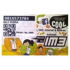 Indosat IM3 10 Digit 0816 57 37 84 Kartu Perdana Nomor Cantik