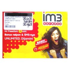Indosat im3 Ooredo 4G LTE 0815 8484 7722 kartu perdana nomor cantik