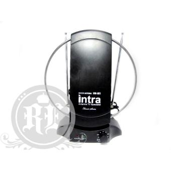 INTRA Antena TV Indoor INT-001 ( UHF/VHF/FM/ Digital Frequency )