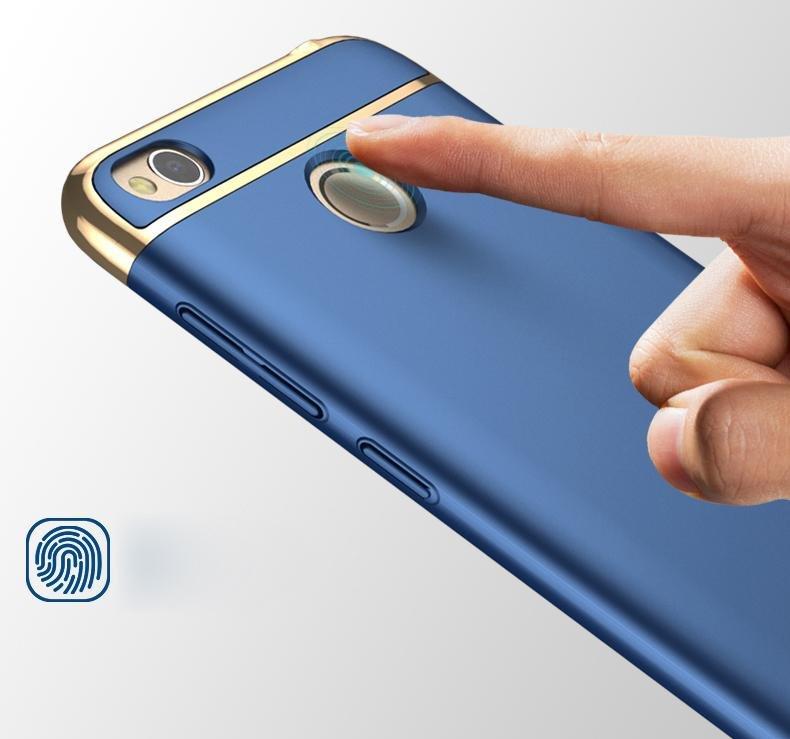 Karet Coating Pc Hard Cover Untuk Xiaomi Redmi 4 X Baby Biru Source · IPAKY 3 in 1 elektroplating PC Hard ponsel Cover untuk Xiaomi