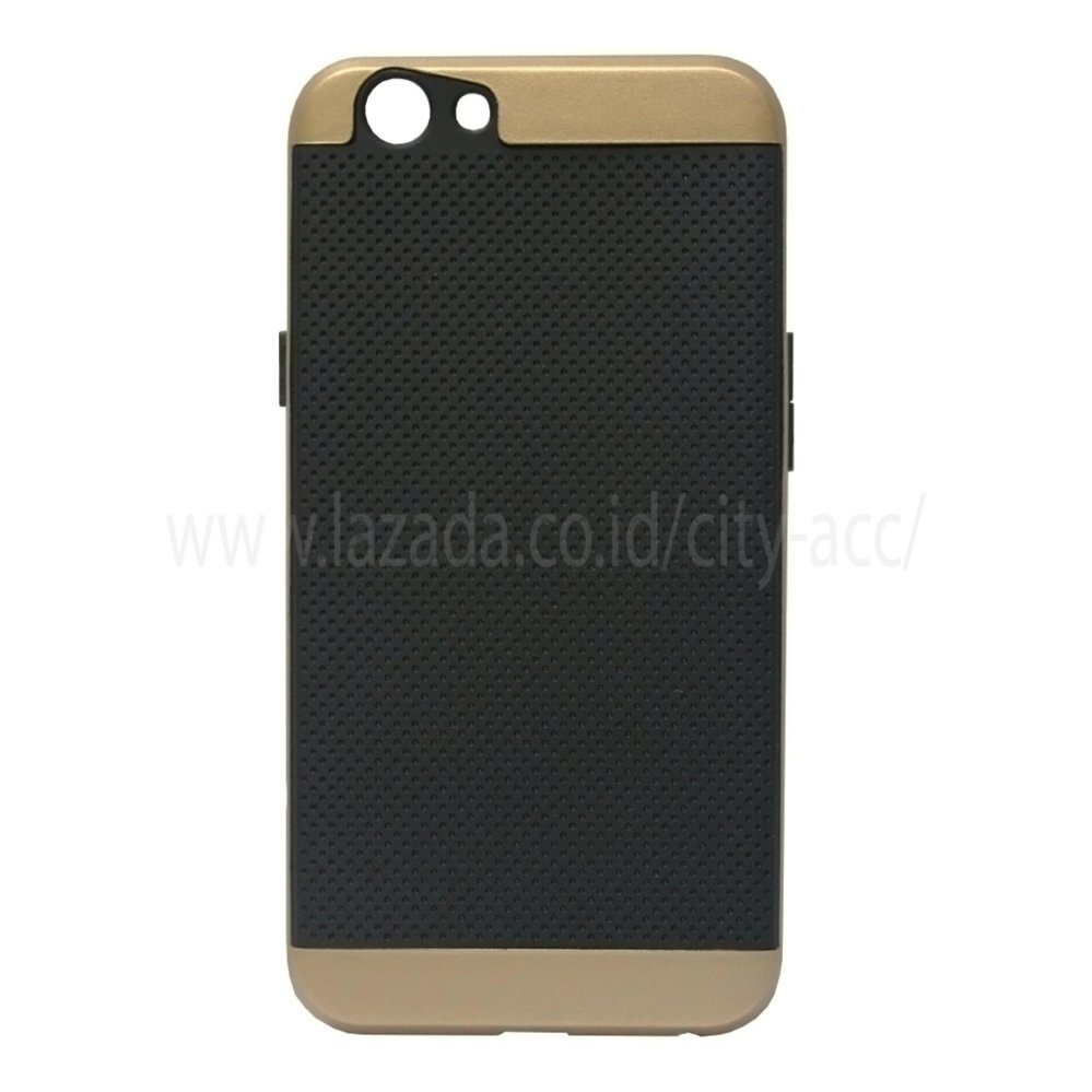... iPaky Case For Oppo F1 S - Gold ...