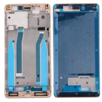 IPartsBuy For Xiaomi Redmi 3 Front Housing LCD Frame Bezel(Gold) - intl .