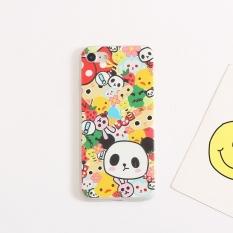 Iphon7/7 plus/6splus panda hewan filter warna layar penuh shell ponsel