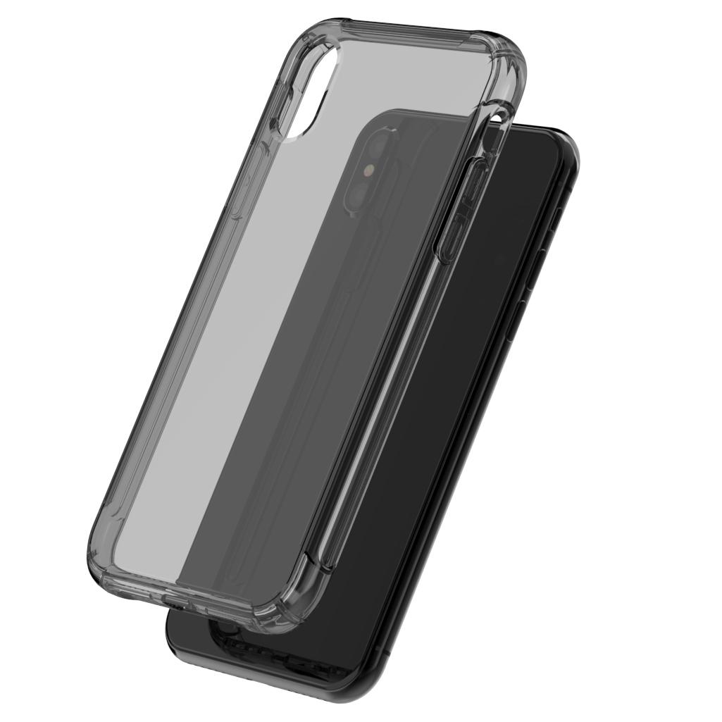 Iphone10 silikon transparan IPHONE anti Drop soft shell handphone shell