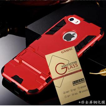 Terbaik Murah Iphone5 menjatuhkan resistensi pelindung cangkang keras set ponsel Bandingkan Simpan