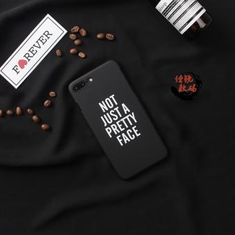 Iphone6/6 splus/7plus kepribadian asli bahasa inggris apel telepon shell