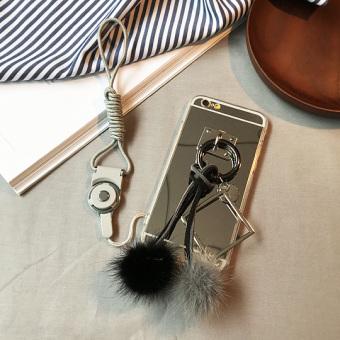 PENAWARAN Iphone66splus cermin apel bola rambut pelindung lengan telepon shell TERMURAH