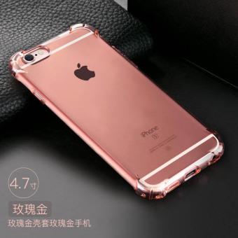 Belanja Terbaik Iphone6plus silikon lembut penurunan resistensi set shell telepon Bandingkan Simpan