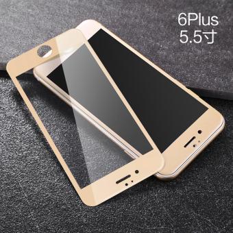 Gambar Iphone6plus 3d apel pelindung layar baja kaca