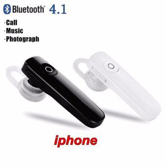 IphoneHeadset Bluetooth 4.1 Earphone Build-in Mic Handfree.