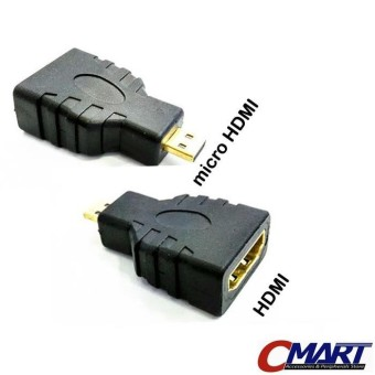Jack micro HDMI Male to HDMI Female konektor Adapter - GEC-HDAFCM