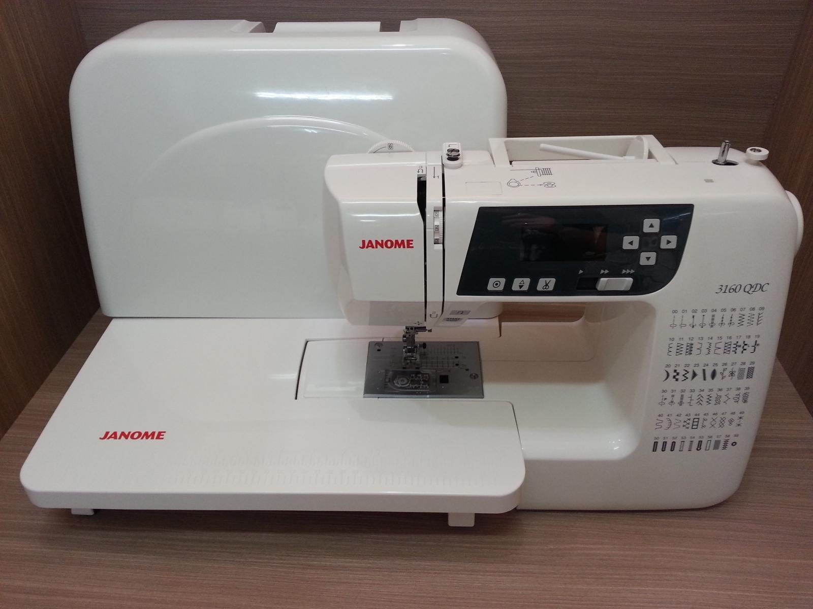 Belanja Terbaik Janome 3160qdc Mesin Jahit Digital Portable 2222 Multifungsi Putih