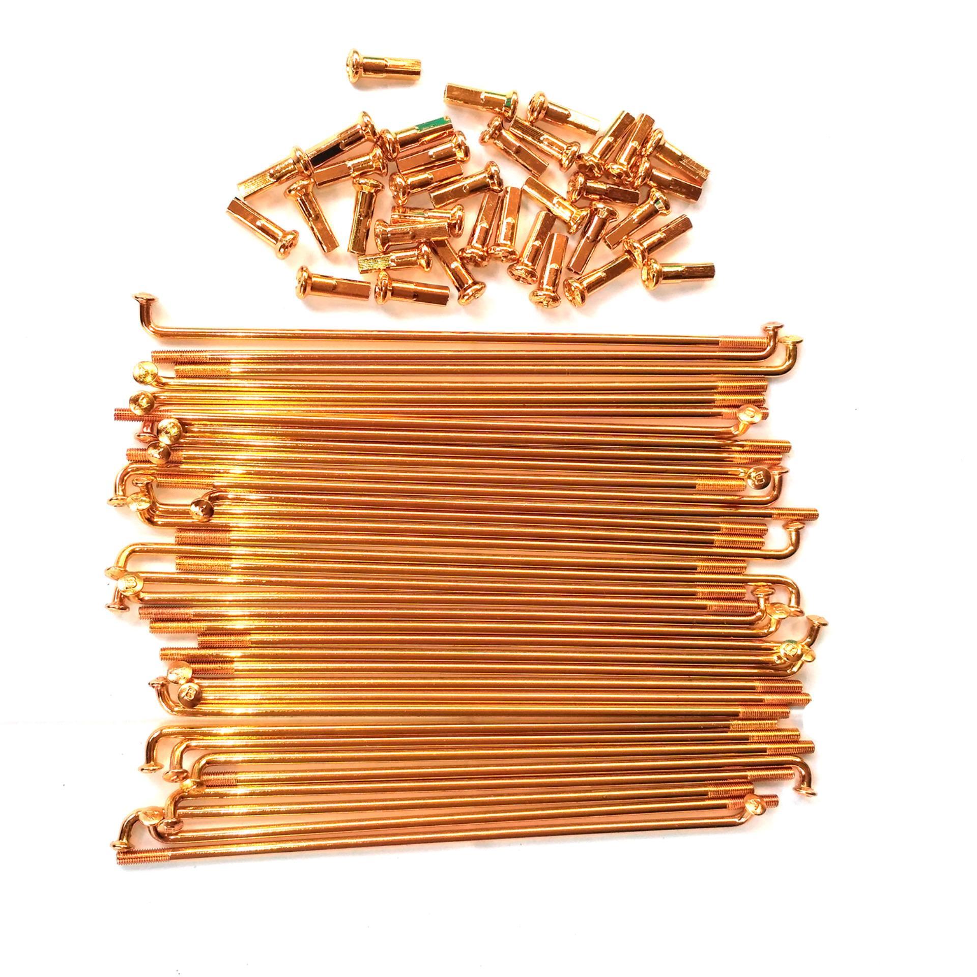 Jari- Jari Roda Sepeda Motor Ukuran 9 x 89 - Gold