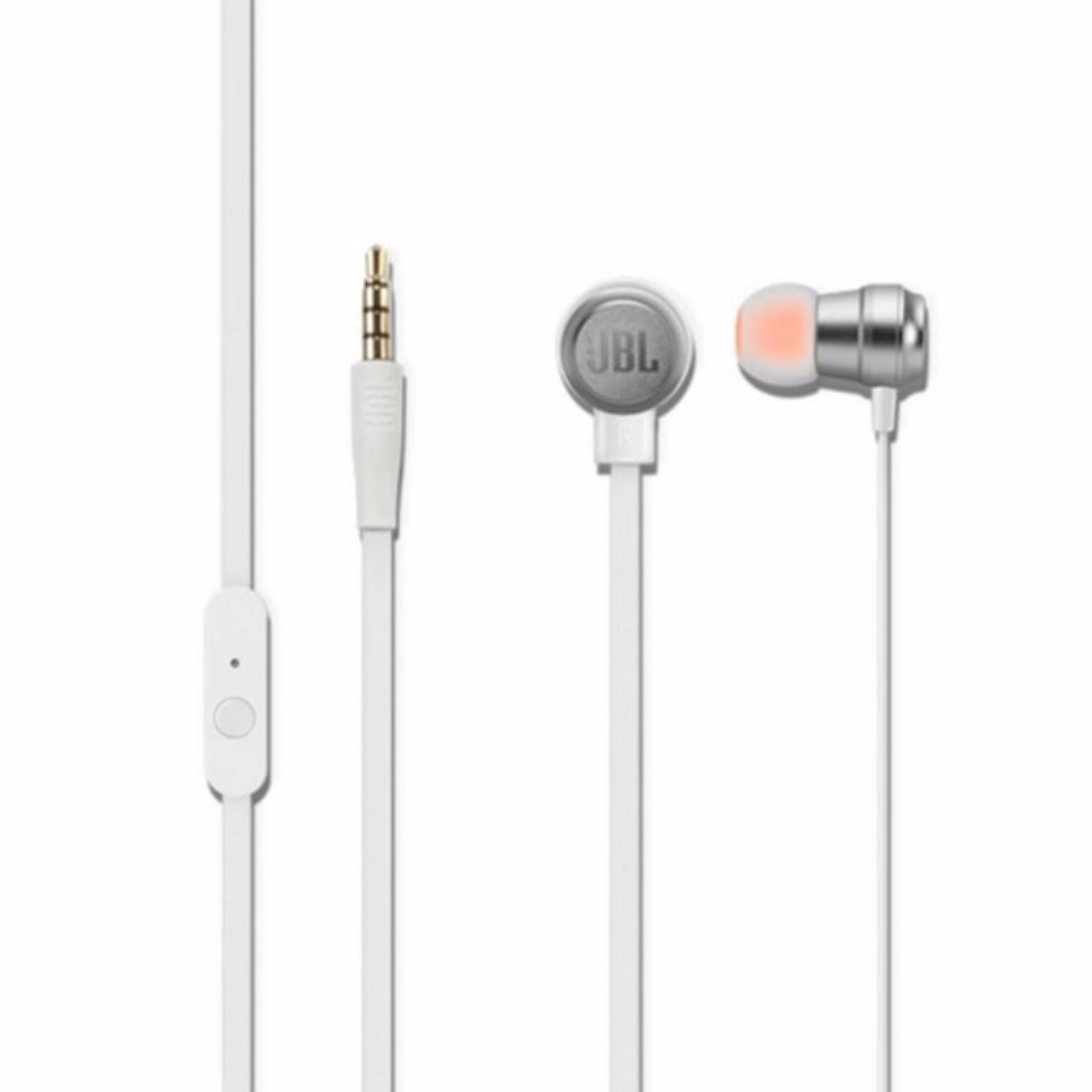 JBL T280A Stereo In Ear Headphone White