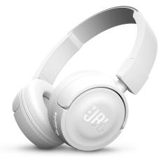 JBL Wireless On-Ear Headphone T450BT - White