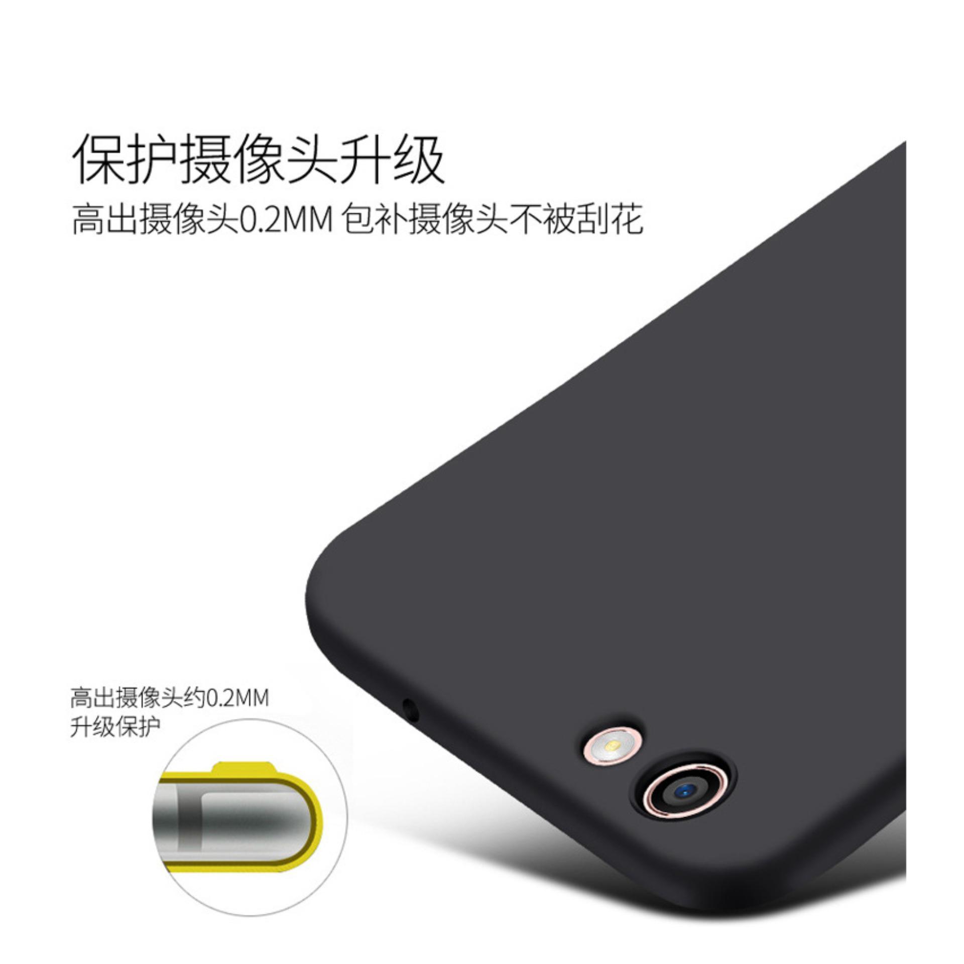 jelly doff slim silicone oppo f3 ultra thin case casing cover .