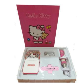 Jual Jet Hello Kitty Powerbank Set Merah Muda Murah