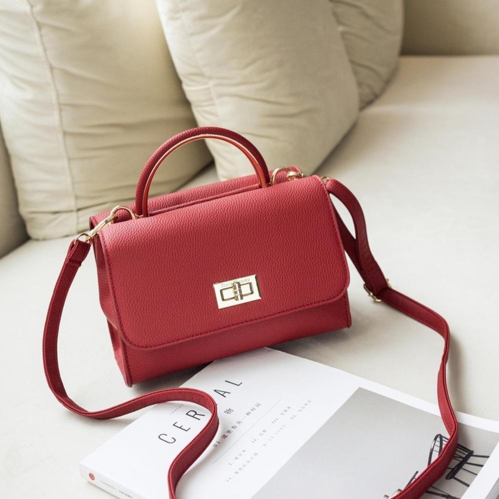 Jims Honey Tas Wanita Tote Bag Lily Bag Red