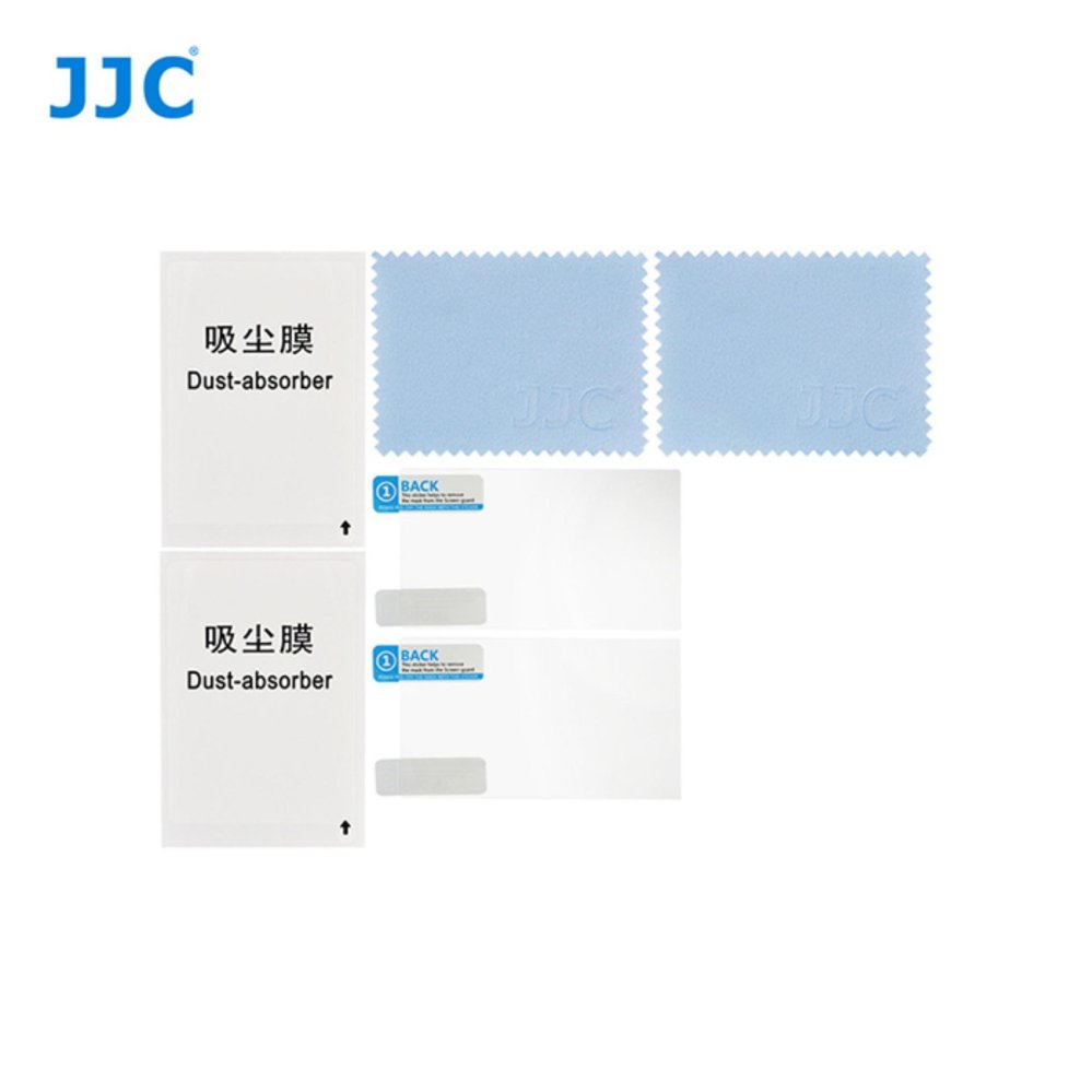 ... JJC 2PCS LCD Guard Film Display Screen Protector Cover Film For Canon EOS M10 M3 ...