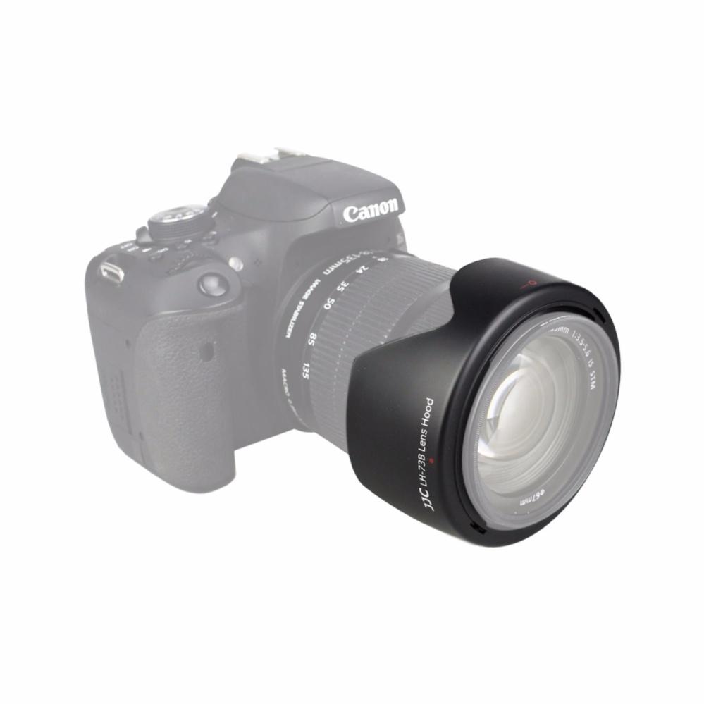 JJC Lens Hood (Tudung lensa) replacement CANON EW-73B for .