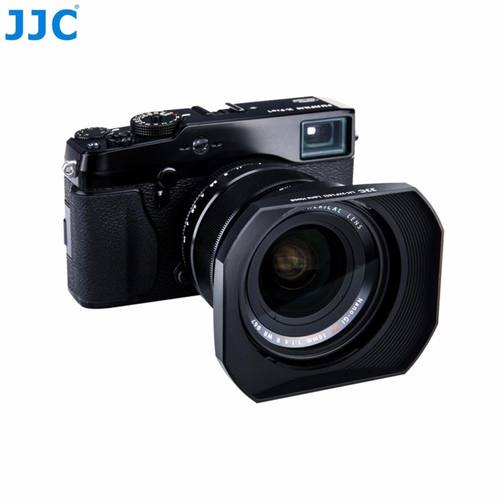 JJC LH-JXF16II Square Lens Hood (Tudung lensa) Replacement FUJIFILM LH-XF16 ...
