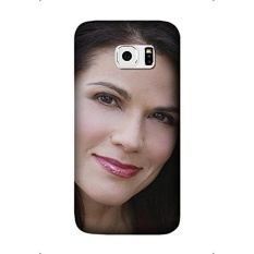joyce cooling girl face smile haircut Mobile Phone Skin Case Cover For Samsung Galaxy S7 Edge Design By [Cynthia Cooley] - intl