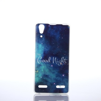 JWmall Case untuk Lenovo A6000 Fit Soft TPU Telepon Kembali Casing Cover -0817-Intl