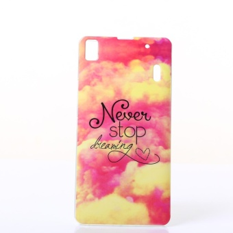 JWmall Case untuk Lenovo A7000 Fit Soft TPU Telepon Kembali Casing Cover -0568-Intl