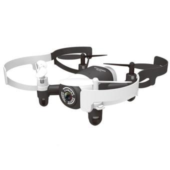 JXD Mini UFO 521DW Quadcopter Drone Wifi dengan Kamera 0.3MP - WhiteBlack
