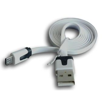 Kabel Data Charger Micro USB to USB Flat