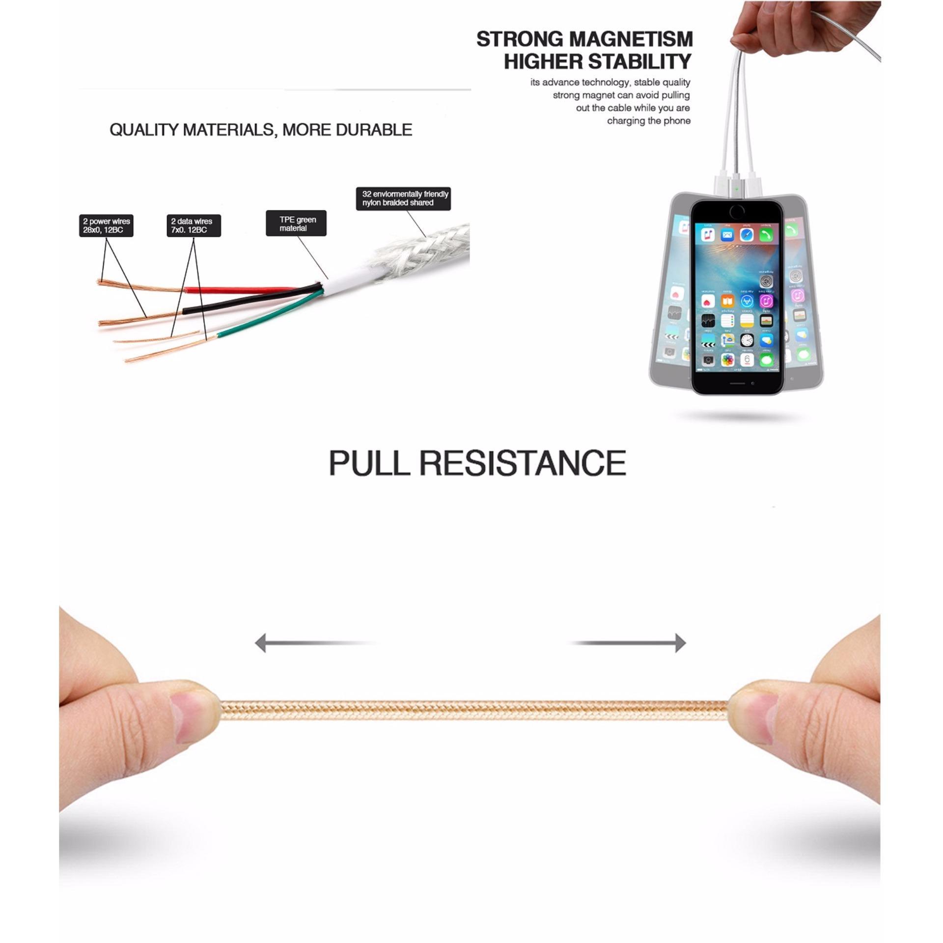 Kabel Data Magnetic Lightning For Iphone .