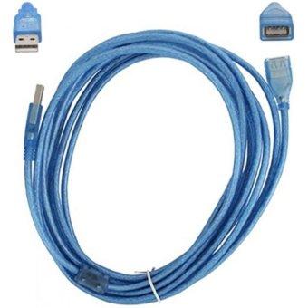Kabel USB Extension 5M - Biru