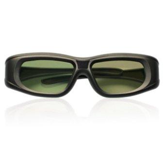 Kacamata 3D Active Shutter Glasses - Hitam