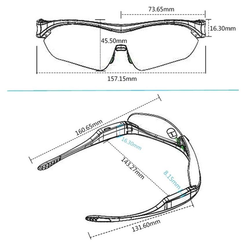 Kacamata Bluetooth kacamata pintar menggunakan hands-free teleponnirkabel Stereo earphone kontrol sentuh untuk Android ios